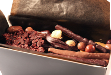 Benoit Chocolats. Coffret de chocolats croustillants