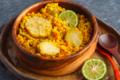 Boulgour au curry et petits légumes