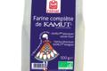 Celnat. Farine complète 5 céréales de blé khorasan KAMUT®