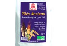 Celnat. Farine intégrale de blés anciens