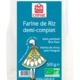 Celnat. farine de riz demi-complet