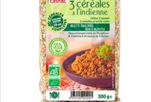 Celnat. Bougour 3 céréales à l'indienne