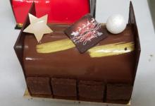 La Doréenne. Bûche au chocolat