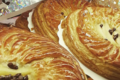 Boulangerie Delaunay. Galette des rois poire chocolat
