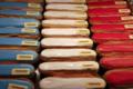 Boulangerie Delaunay. Eclairs bleu blanc rouge
