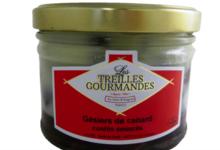 Les Treilles Gourmandes. Gésiers de canard émincés confits
