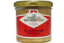 Les Treilles Gourmandes. Terrine de canard 25% foie gras