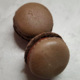 Les douceurs de l'hippodrome. Macaron chocolat noir