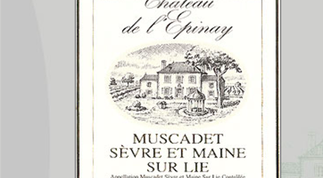 Château de l'Epinay. Muscadet sèvre et maine sur lie