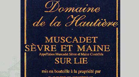 Domaine de la Hautière. Muscadet sèvre et maine sur lie