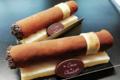 Les délices de Charlotte. Cigare au chocolat