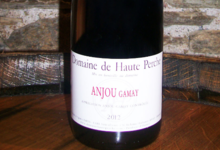 Domaine De Haute Perche. Anjou gamay