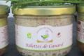 Foie gras du domaine. Rillettes de canard
