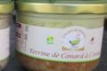 Foie gras du domaine. Terrine de canard à l'orange