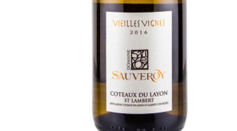 Domaine Sauveroy. Coteaux du Layon Saint Lambert Vieilles Vignes