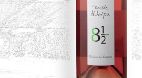 Domaine des Trottières. Rosé d'Anjou 8 et demi