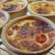 Serot Boulangerie. Quiche chorizo tomate