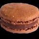 Maison Castelanne. Macaron chocolat pain d'épices