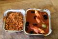 Emincé de dinde à la provençale avec sa timbale de riz
