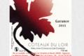 Domaine Les Maisons Rouges. Coteaux du Loir Garance