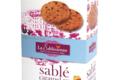 Biscuiterie La Sablésienne. Sablé pur beurre aux pépites de caramel au beurre salé