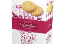 Biscuiterie La Sablésienne. Sablé nature pur beurre frais