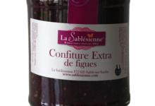 Biscuiterie La Sablésienne. Confiture extra de figues