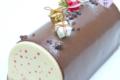 Pâtisserie - Salon de Thé Takayanagi. Bûche caramel poire