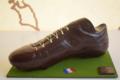 Histoire De Chocolat. Chaussure de foot