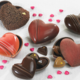 Histoire De Chocolat. Coeurs