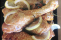 MeatCouture. Pilon de poulet mariné