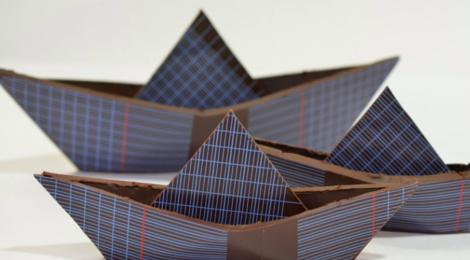 Chocolats Colas. Bateau