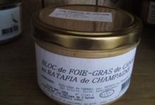 Les délices de l'Arnes. Bloc de Foie-gras au ratafia