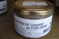 Les délices de l'Arnes. Rillettes de canard au foie-gras