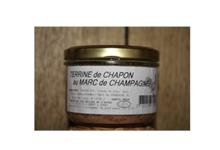 Les délices de l'Arnes. Terrine de chapon au marc de Champagne