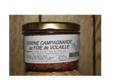 Les délices de l'Arnes. Terrine campagnarde au foie de volaille.
