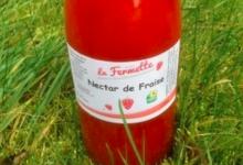 La fermette. Nectar de fraise