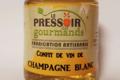 Le pressoir des gourmands. Confit de champagne blanc