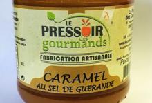 Le pressoir des gourmands. Crème de caramel au sel de Guérande