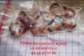 Ferme Du Château Blanc. Gésiers de volaille