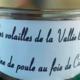 Elevage Avicole de la Vallée Blanche. Rillettes de poule au foie gras