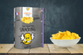 Thaas chips. Chips nature snacking