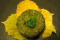 la ferme de Saint Quentin. Fromage de brebis aromatisé ail et fines herbes