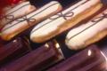 Boulangerie patisserie Guenard. Eclairs