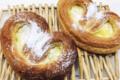 Lunettes à la crème pâtissière et sucre glace