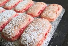 Sacrées Pâtisseries de Zoé Petit. Biscuit rose
