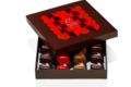 Maison Caffet. 16 coeurs en chocolat