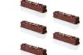 Maison Caffet. Barres chocolatées Grande Favorite noir