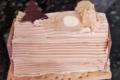 Bûchette traditionnelle Crème au beurre Praliné