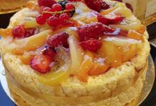 Pâtisserie Duparcq. Charlotte aux fruits